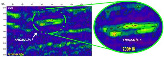aplicación de transformación ondicular y uso de splines cúbicos ayuda a mejorar la imagen sísmica.
