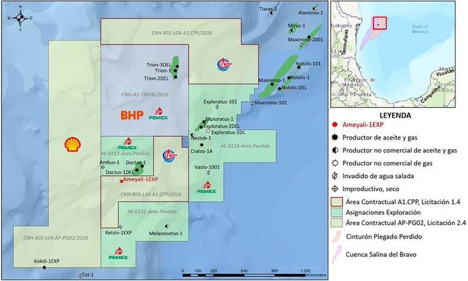 China Offshore cede participación a Shell en aguas profundas frente a Tamaulipas