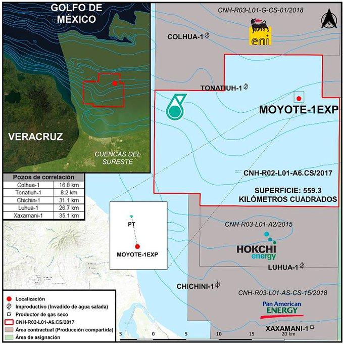 PC Carigali invertirá 62.4 mdd en aguas someras de México