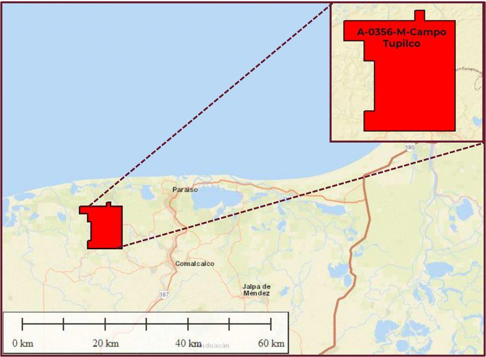Pemex invertirá 344 mdd en campo terrestre Tupilco