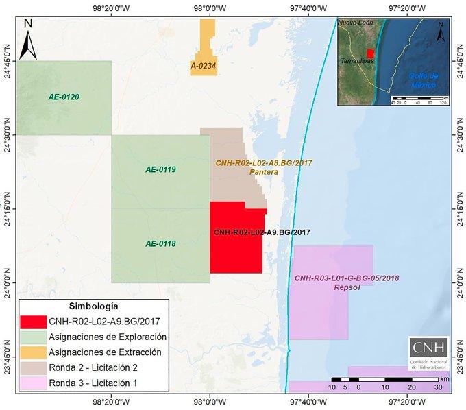 CNH aprueba plan de Pantera E&P por 34.25 mdd