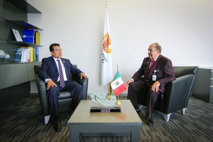 Carlos Gonzalo Meléndez asume dirección del Cenace
