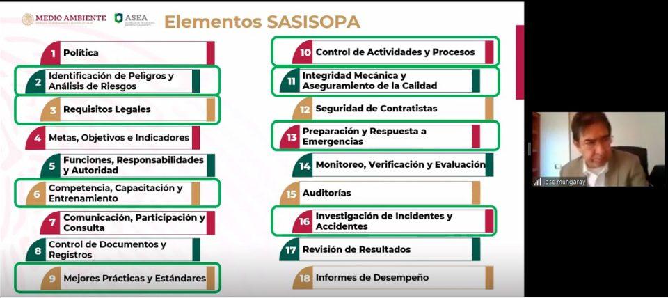 Directivos de la ASEA exponen por qué el SASISOPA es clave para la certeza técnica-jurídica de los procesos en materia de seguridad y ambiente
