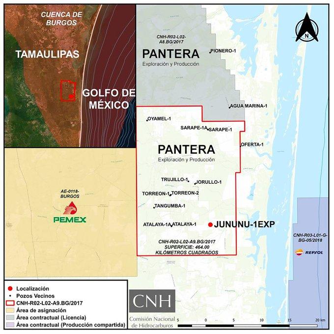 Aprueban a Pantera E&P plan en pozo terrestre Jununu