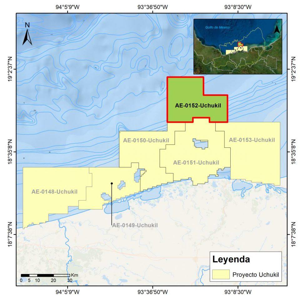 Pemex invertirá hasta 654 mdd en campo Uchukil