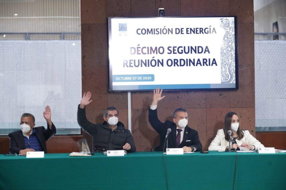 Aprueba Comisión de Energía plan de trabajo de Pemex y CFE