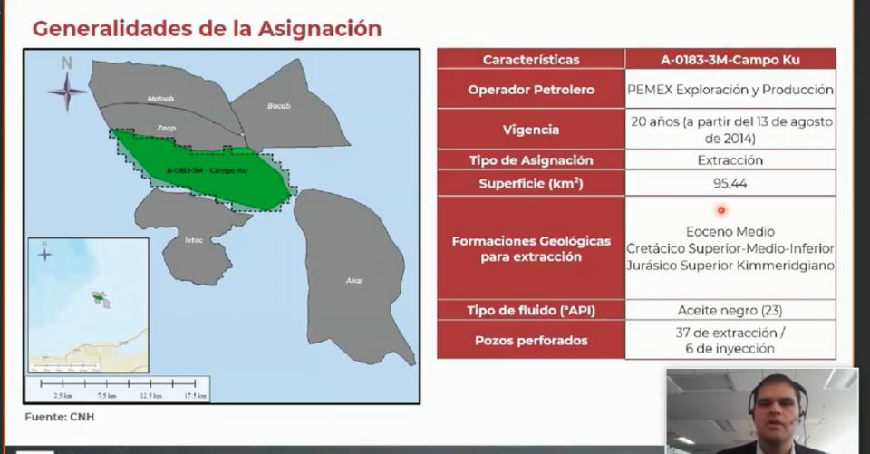 Aprueban a Pemex modificación para campo KU; no obstante, alertan sobre quema de gas