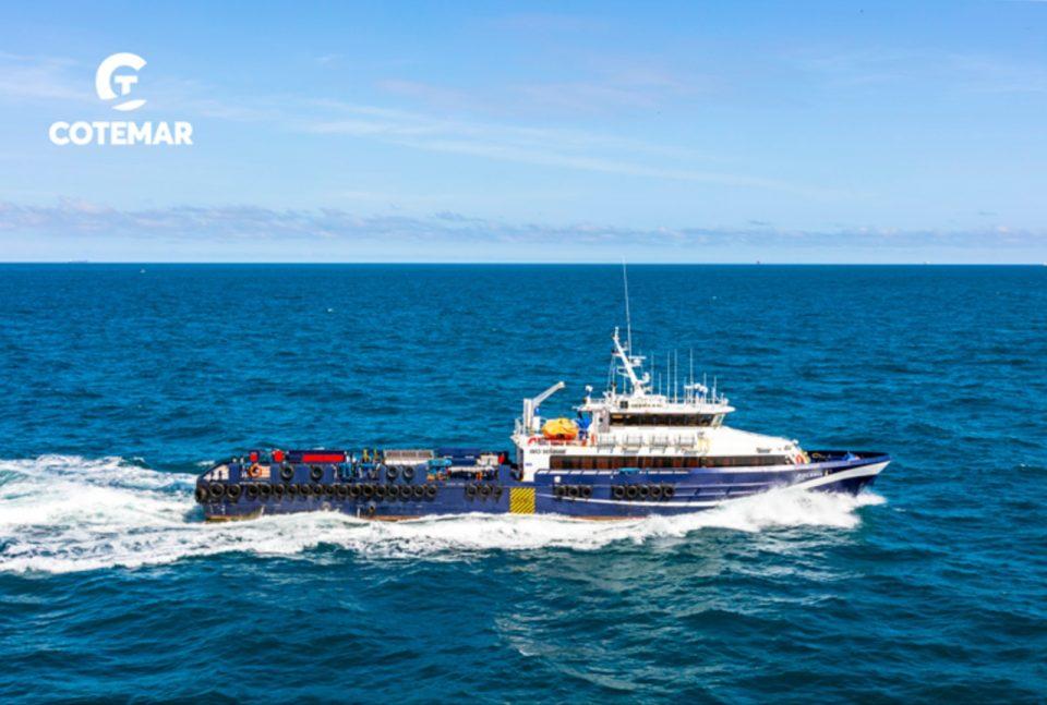 Cotemar recibe la certificación ISO 45001:2018 para once de sus embarcaciones