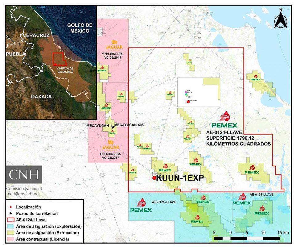 Pemex invertirá 21.4 mdd en pozo Kunn-1 en Veracruz