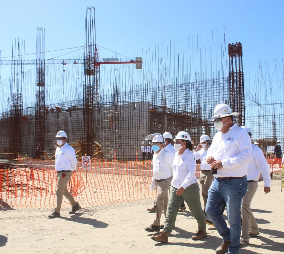 Avanza construcción de plantas en Dos Bocas: Nahle