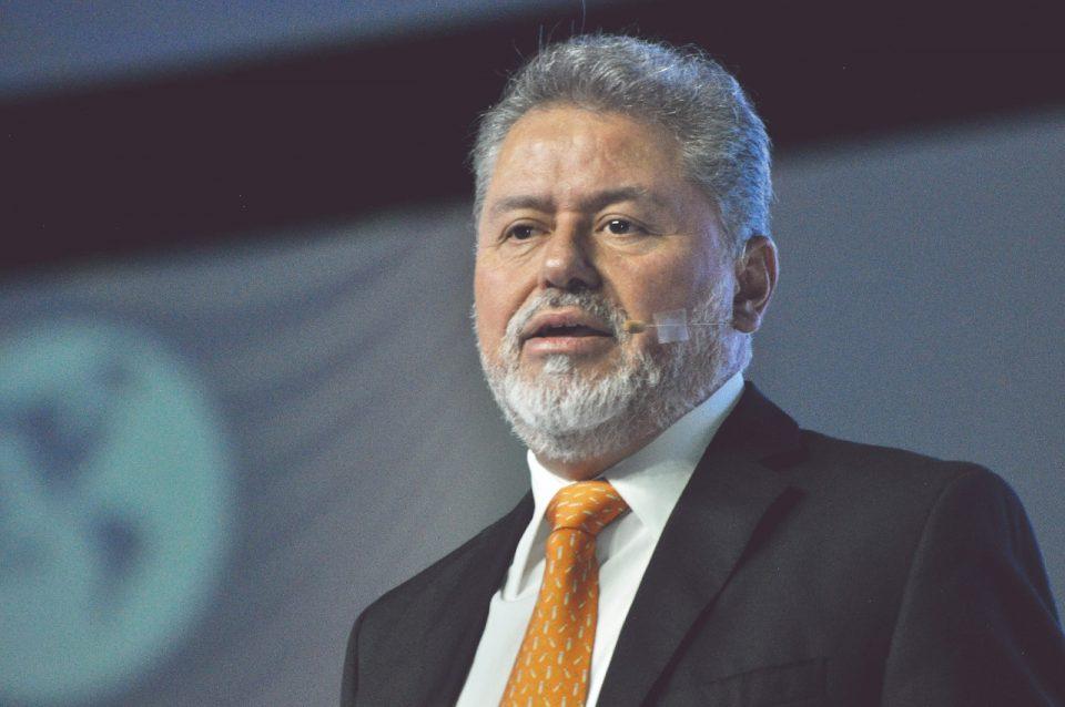 Ing. Francisco Flamenco, presidente de la Society of Petroleum Engineers, Sección México (SPE)