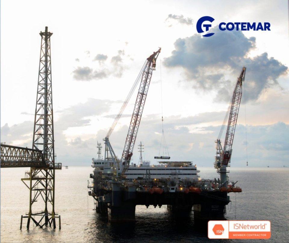 Cotemar recibe certificación ISNetworld