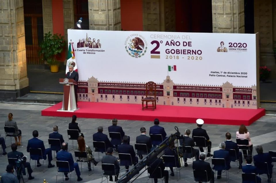 AMLO resalta rescate de Pemex y CFE en 2 años