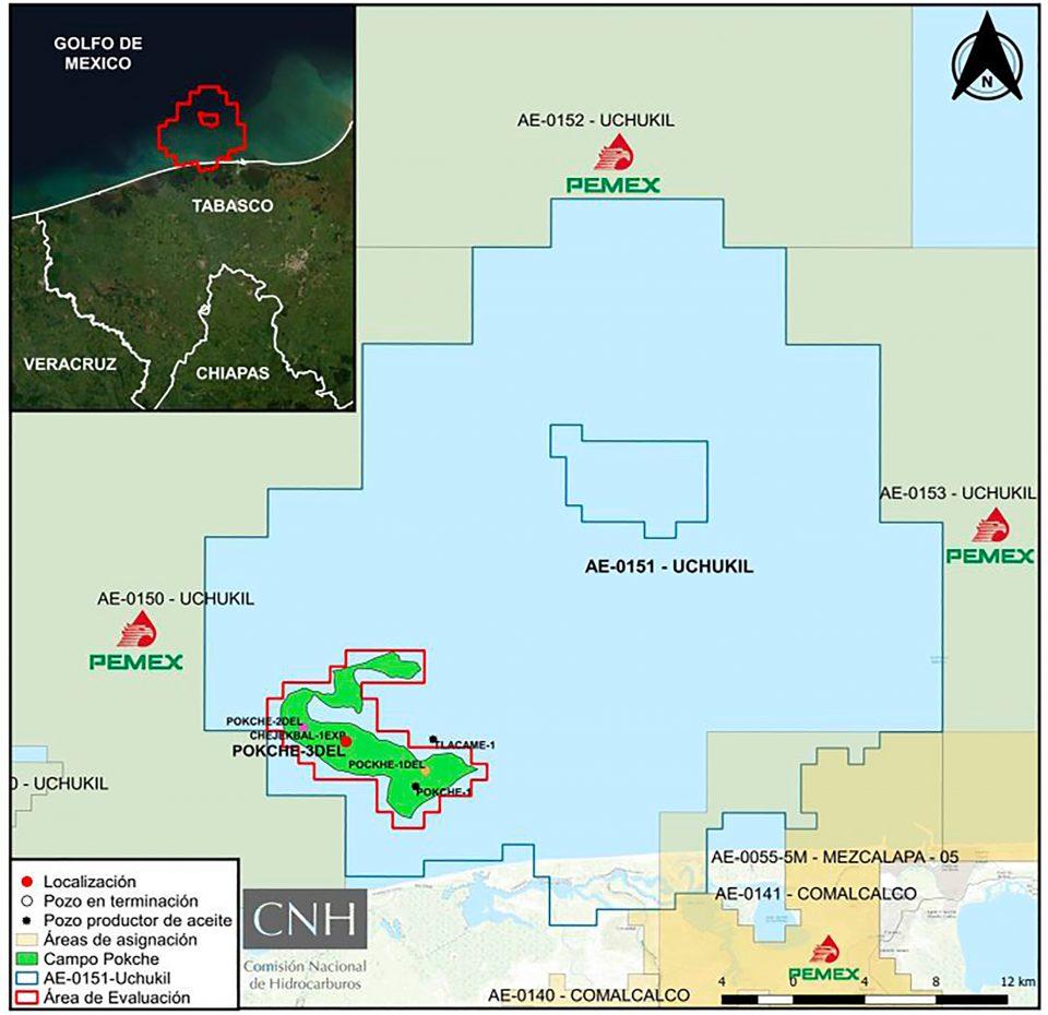 CNH aprueba a Pemex modificar plan de perforación en aguas someras