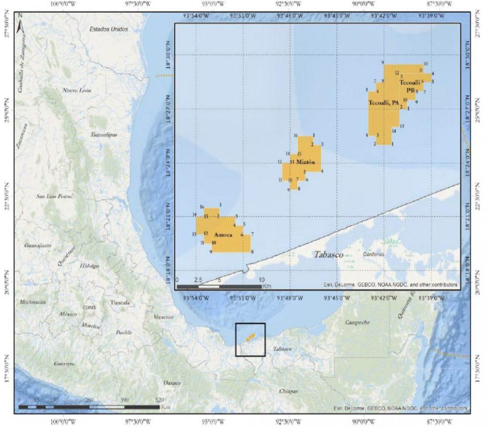 Eni invertirá 574.5 mdd en campos Amoca, Miztón y Tecoalli