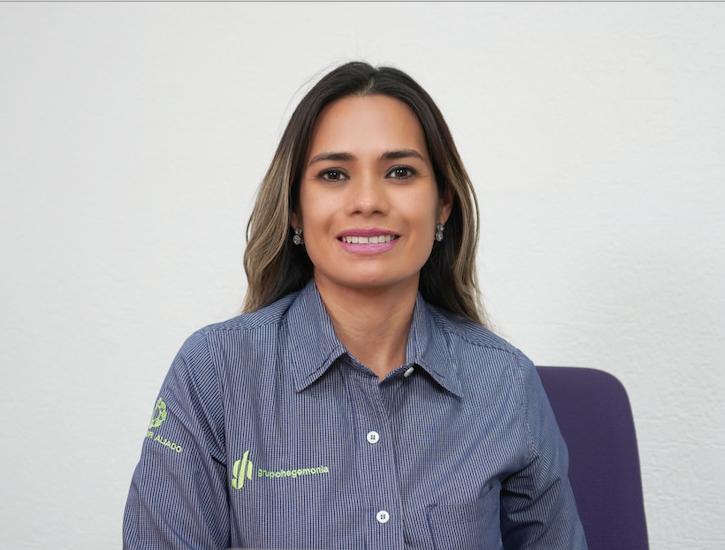 Patricia Hernández Proctor, directora general de Grupo Hegemonía, empresa de administración de capital humano