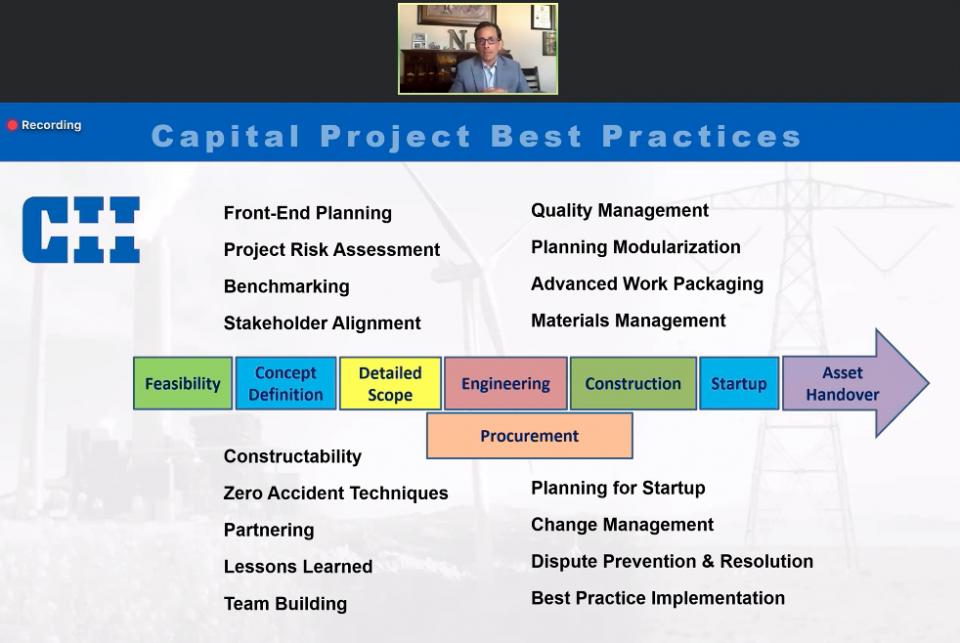 Plan de comunicación, clave del éxito en proyectos industriales