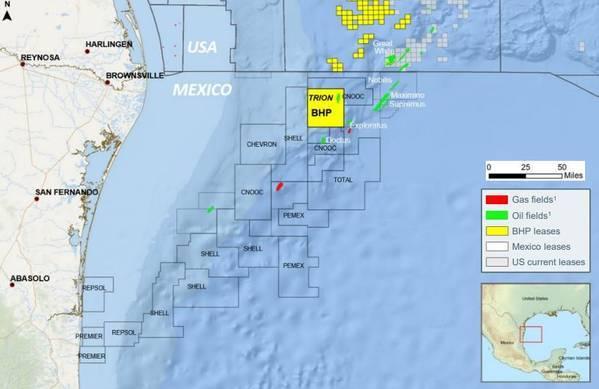 BHP analizar salir del negocio del petróleo, ¿Y Trion?