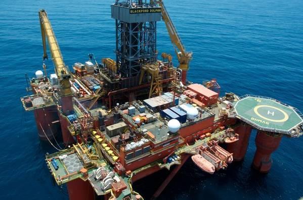 Plataforma de Dolphin Drilling inicia trabajos para Pemex