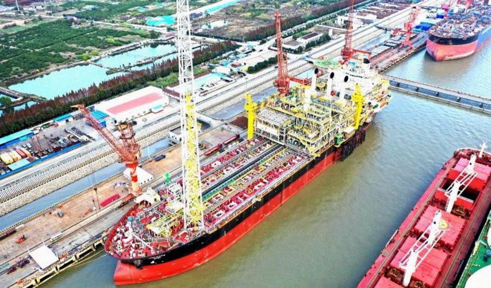 Cosco entrega buque FPSO a Eni para campo Amoca en Campeche