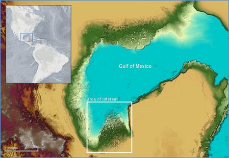 Características intrusivas en la exploración en aguas profundas