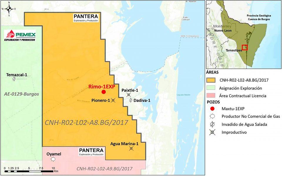 Pantera E&P 2.2 invertirá 5.18 mdd en pozo exploratorio terrestre Rimo-1EXP