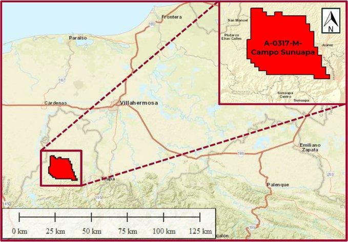 CNH aprueba plan Pemex de hasta 292 mdd en Campo Sunuapa