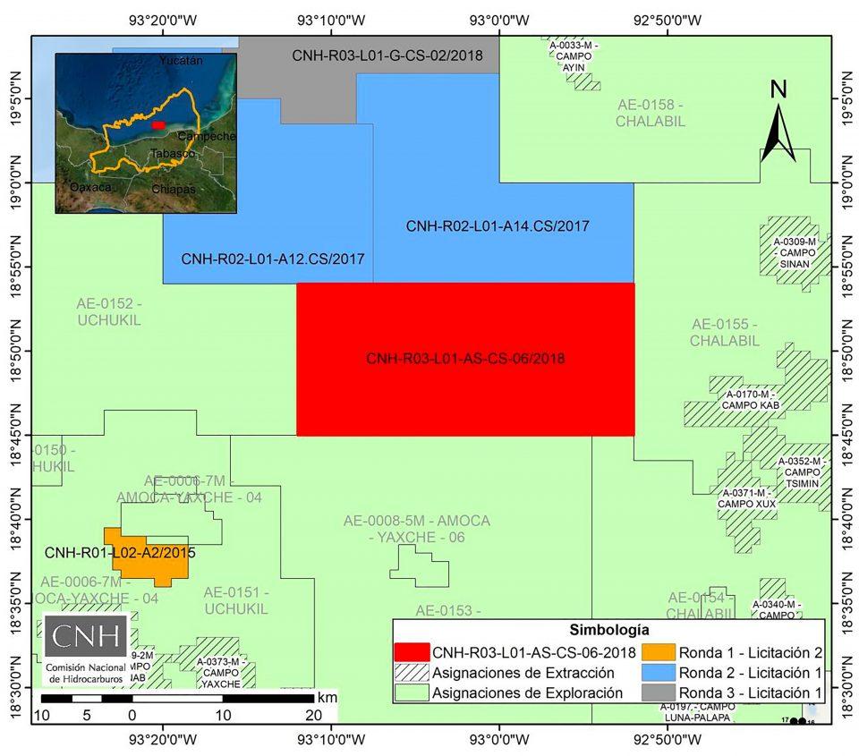 CNH aprueba a Total inversión 18.28 mdd en bloque de aguas someras