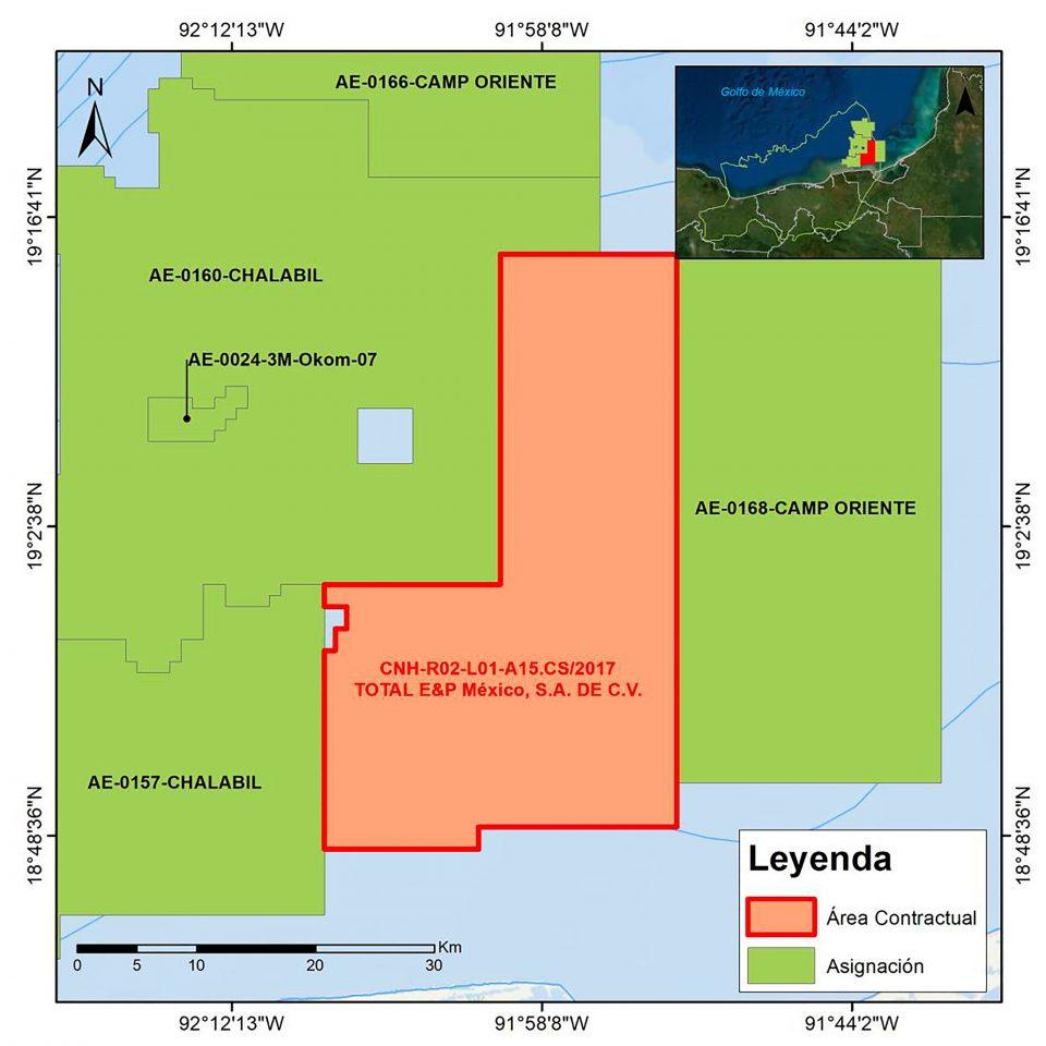 CNH aprueba inversión de 4.7 mdd de Total en aguas someras