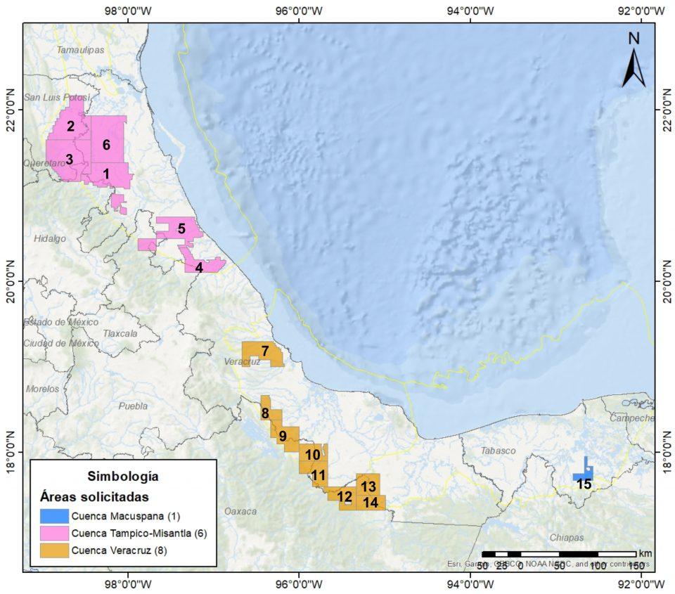 CNH avala a Sener otorgar 15 asignaciones a Pemex, contempla uso de fracking