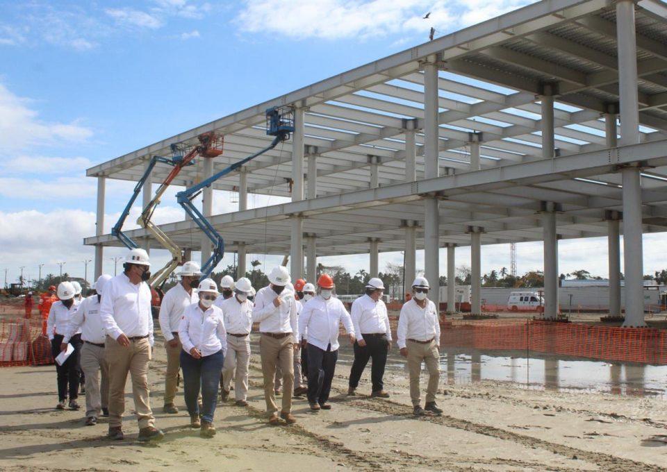 Concluye primera etapa de refinería en Dos Bocas: Rocío Nahle