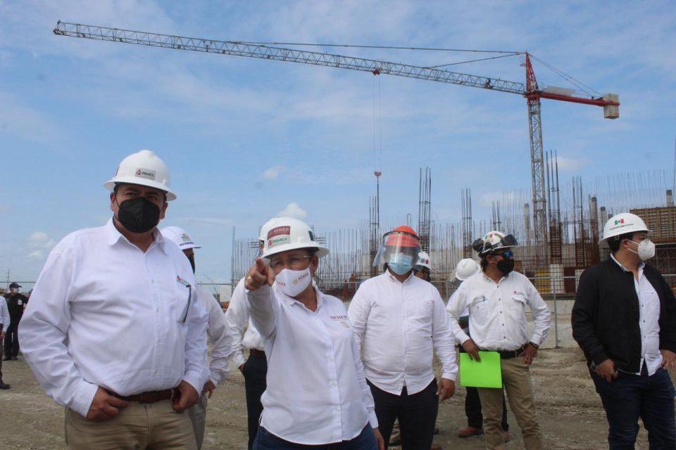 Inicia segunda etapa de construcción de refinería en Dos Bocas: Nahle
