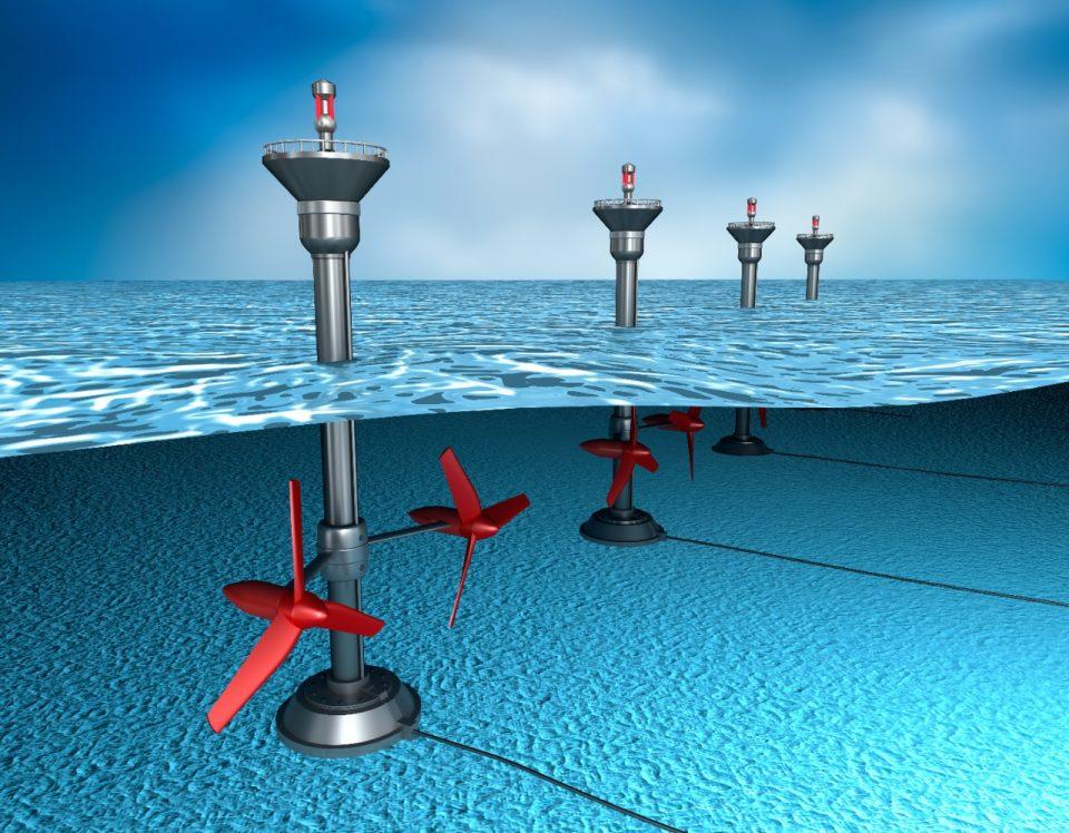 Potencial de la energía mareomotriz en México