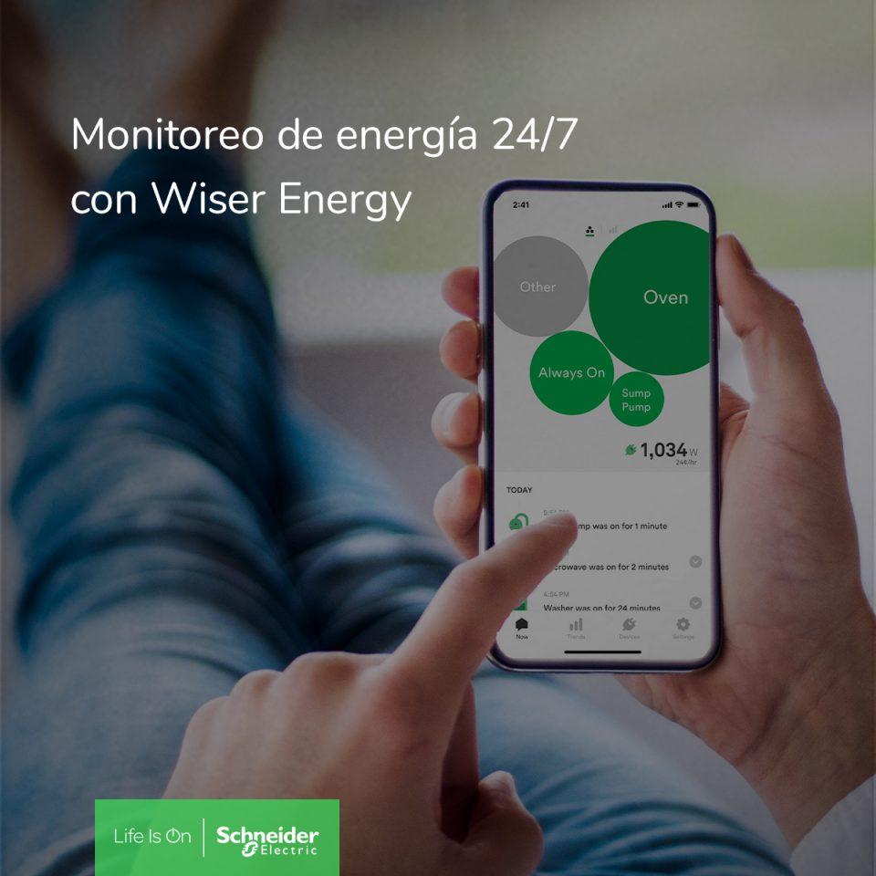 Schneider Electric presenta Wiser Energy
