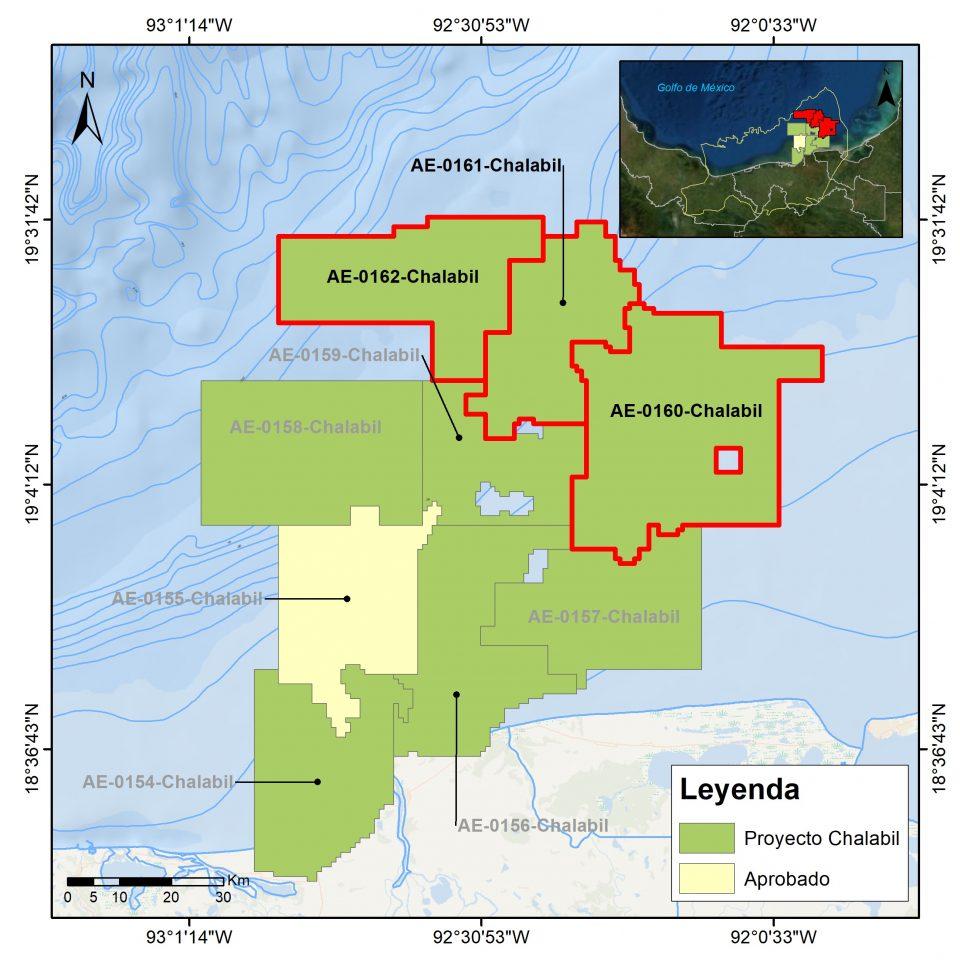 CNH autoriza reconfiguración de asignaciones en Cuencas del Sureste