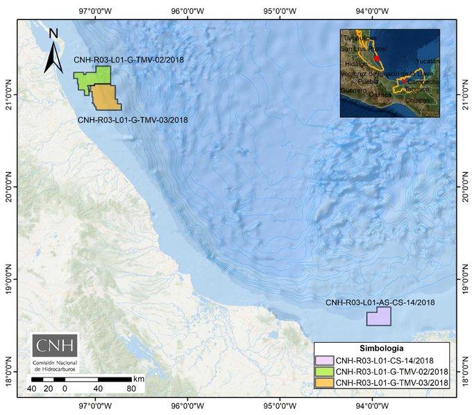 CNH aprueba 3 planes de exploración a Wintershall Dea México