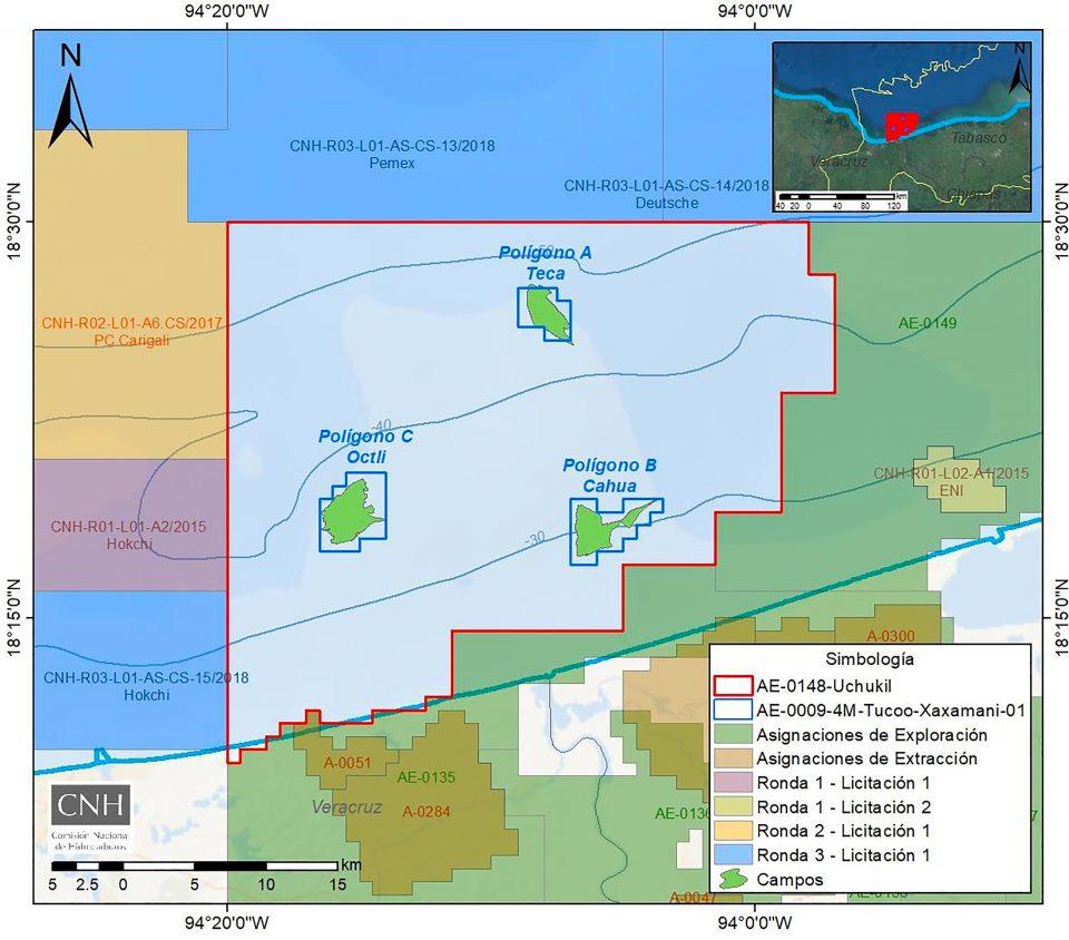 CNH aprueba modificar asignaciones Tucoo-Xaxamani y Uchukil.