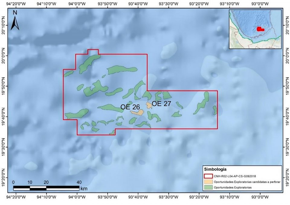 Shell invertirá 282.71 mdd en exploración en aguas profundas de México