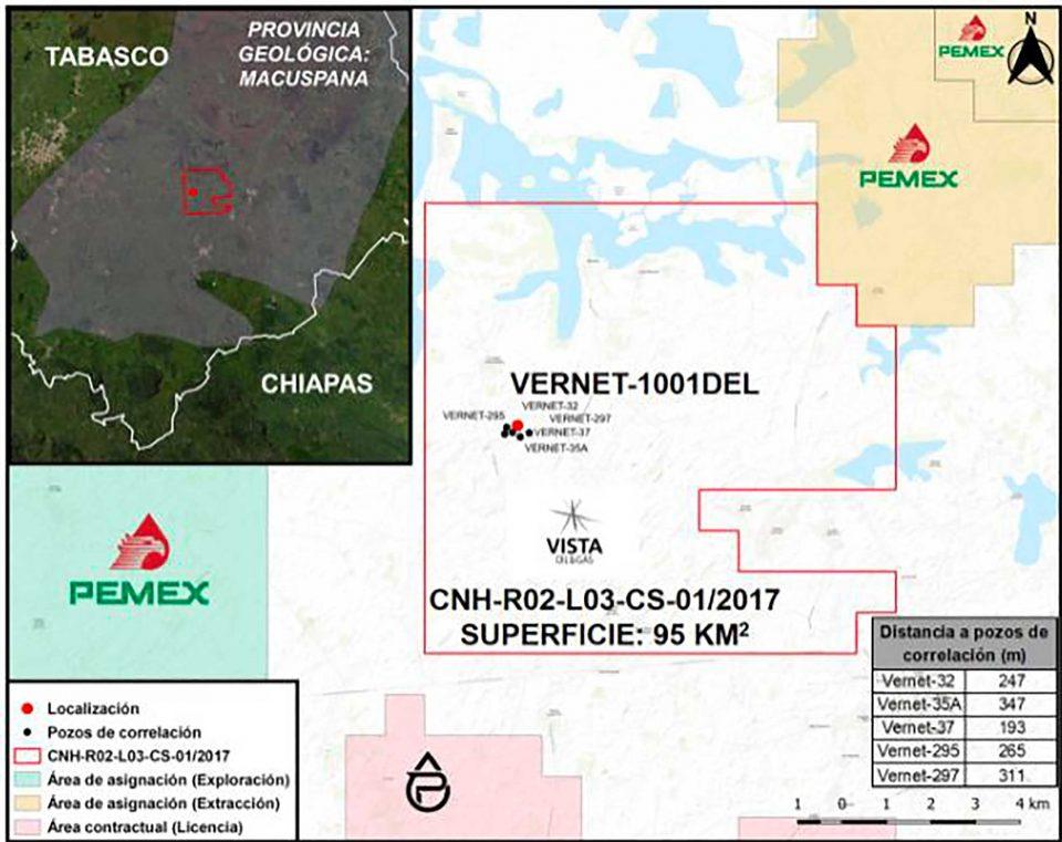 Aprueban a Vista Oil & Gas perforación de pozo terrestre Vernet