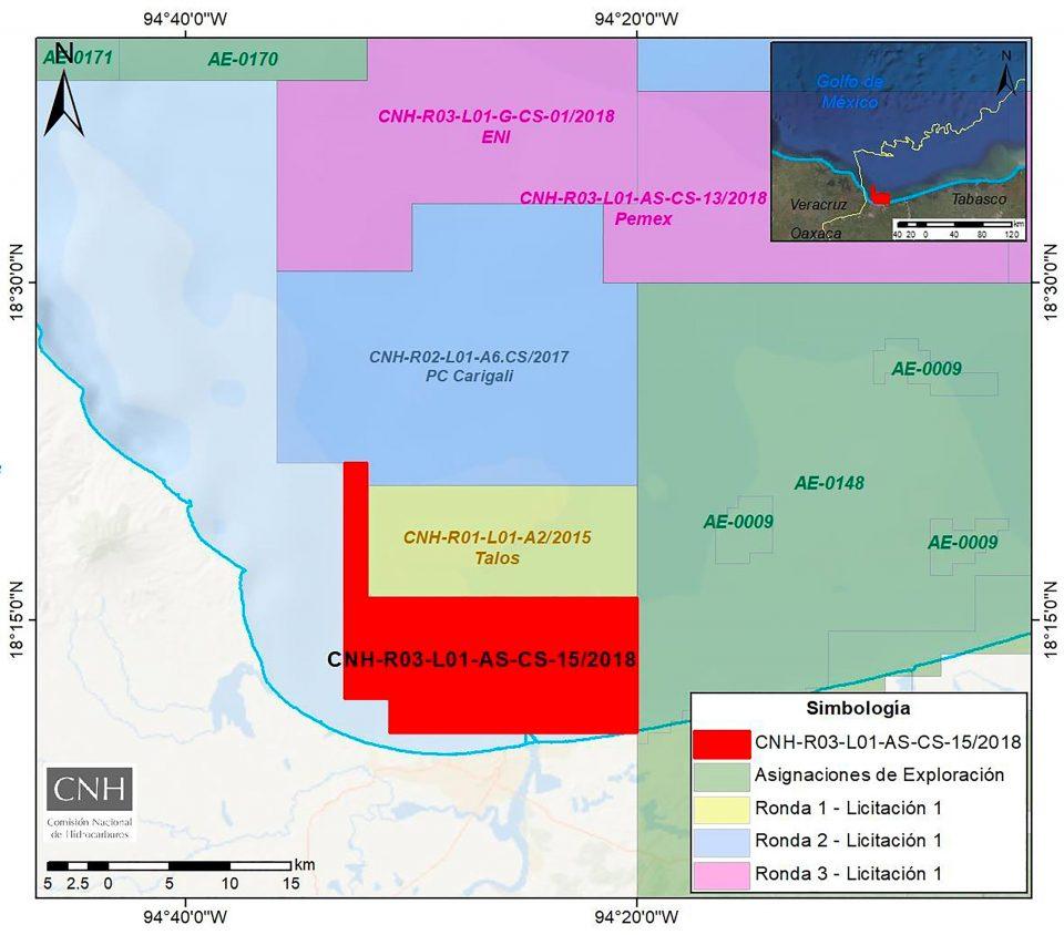CNH aprueba a Hokchi Energy plan de 7.92 mdd en aguas someras