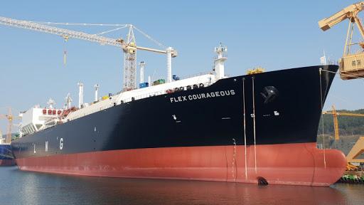 Llega buque Flex Courageous con GNL a Manzanillo