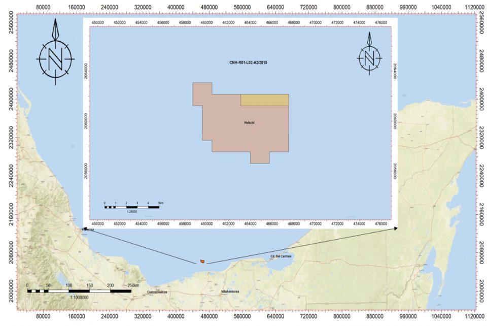Hokchi Energy invertirá 1,822 mdd en desarrollo de campo en aguas someras