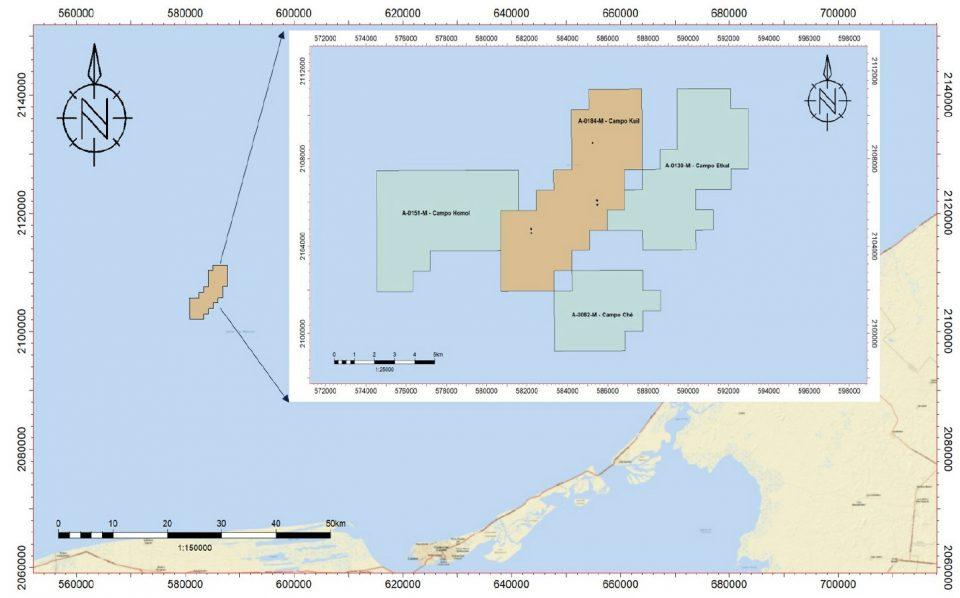 Pemex invertirá 339.08 mdd en Campo Etkal en aguas someras