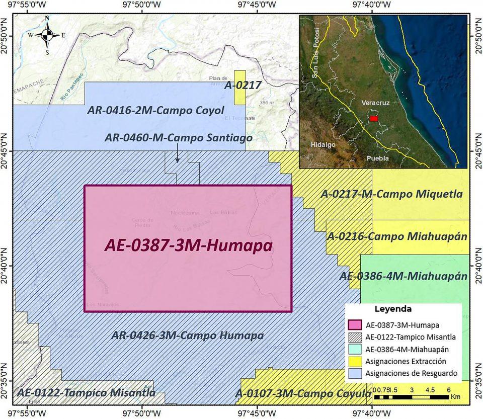 Pemex va por 35 MMbpce en plan de exploración en Campo Humapa
