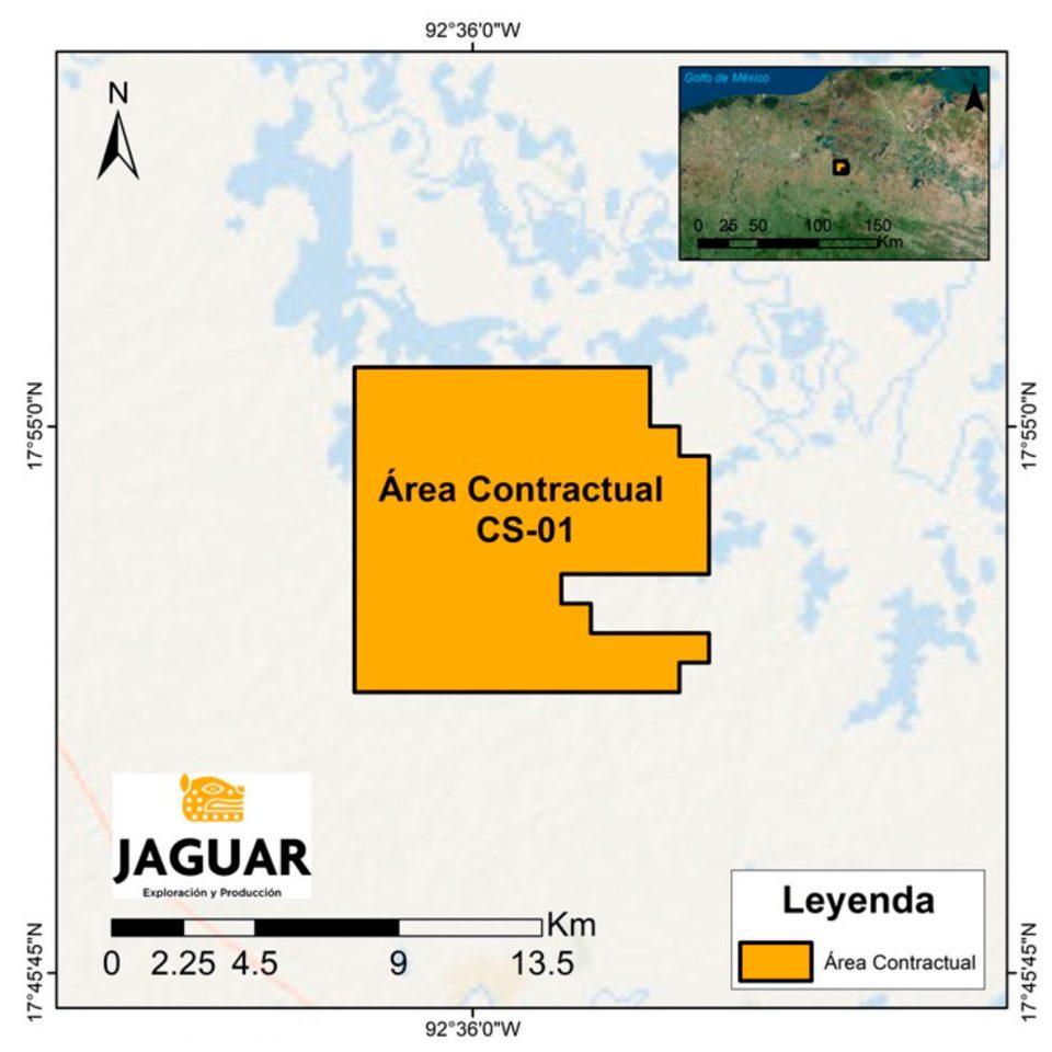 Jaguar E&P cede participación a Vista O&G en Tabasco