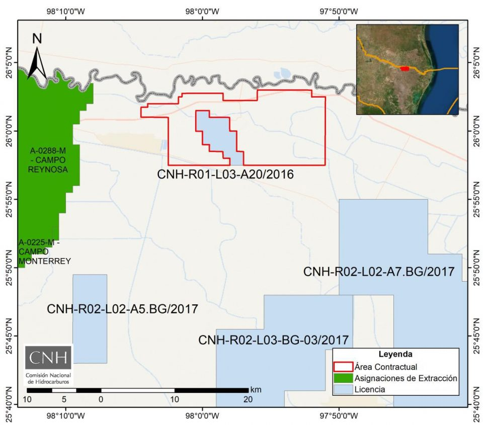 Newpek desembolsará 26 mdd para evaluar campo Treviño