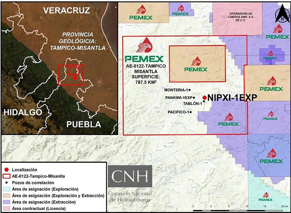 Pemex ahora va por perforación del pozo Terrestre Nipxi