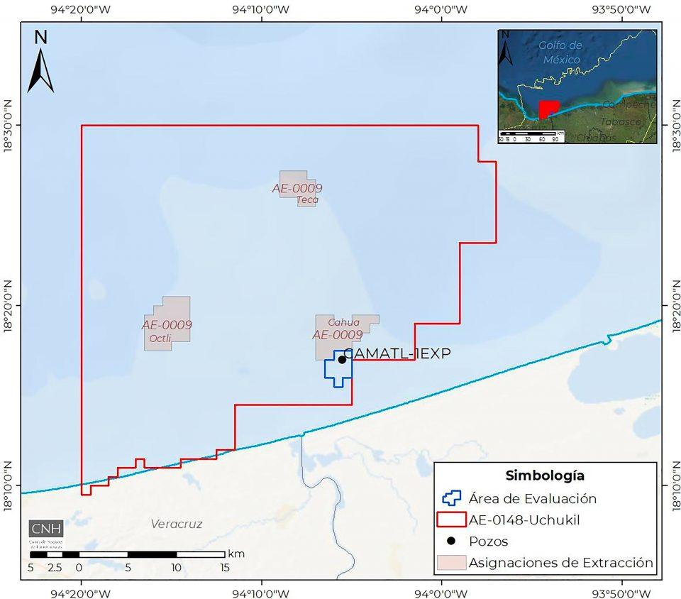 Pemex invertirá 58 mdd para evaluar descubrimiento Camatl-1EXP