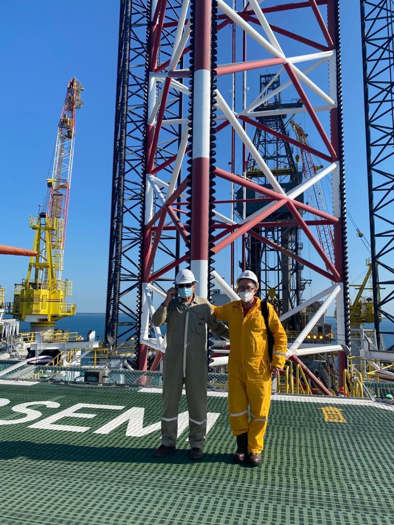 Romero Oropeza supervisa nuevos campos petroleros en Tabasco