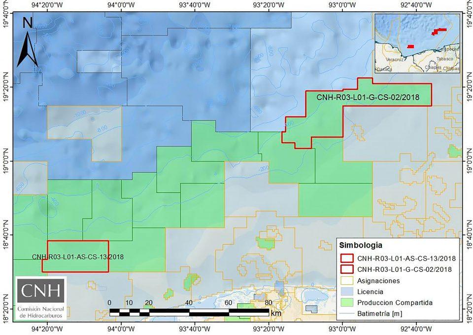 CNH aprueba a Pemex 2 programas en aguas someras